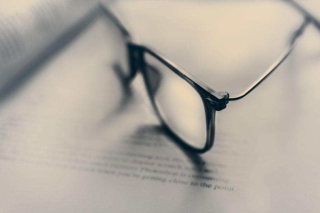 Glasses Photo by James Sutton on Unsplash